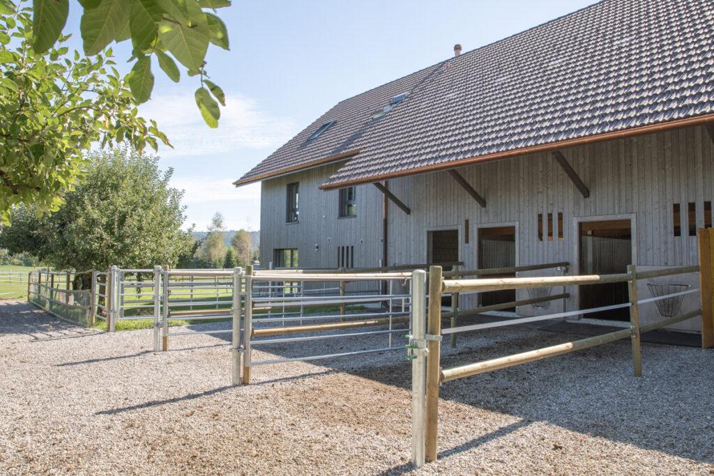 Neubau EFH mit Pferdestallung Strengelbach