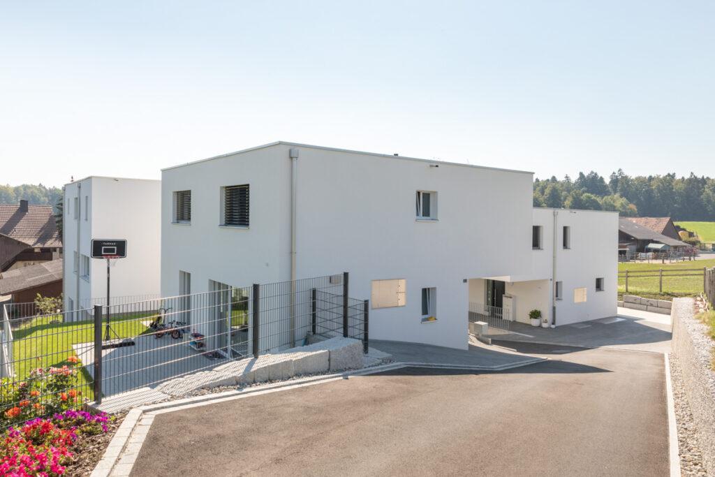 Neubau 4 EFH Birrhard